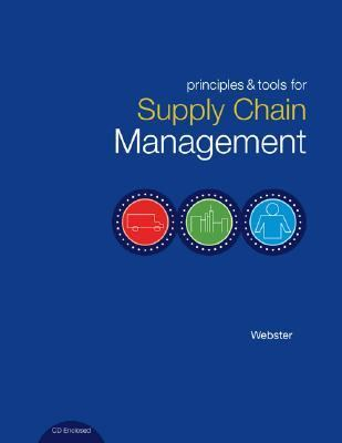 Principles and Tools for Supply Chain Management