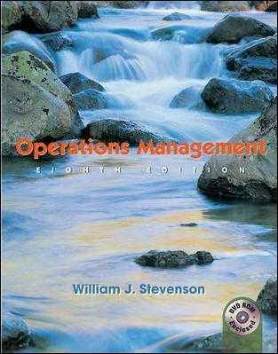 Operations Management (Instructor's Edition)