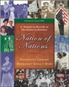 Nation of Nations: A Narrative History Of The American Republic: Since 1865, Chapters 17-33 w/CD and Powerweb Reg Code