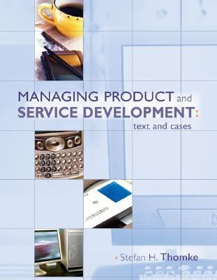 Managing Product And Service Development Text And Cases