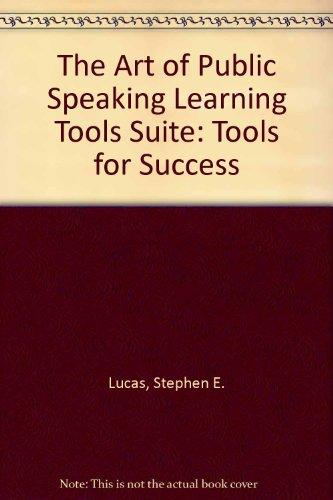 Learning Tools Suite to accompany The Art of Public Speaking, 4.0 Media Enhanced Edition