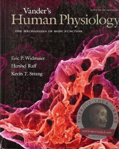 Vander's Human Physiology 11th Eleventh Edition