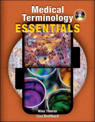 Medical Terminology Essentials With Student And Audio Cd's And Flashcards