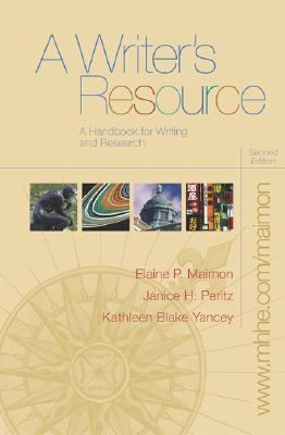 Writer's Resource A Handbook for Writing and Research