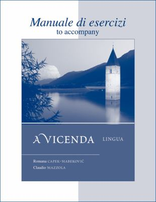 Workbook/Laboratory Manual t/a A vicenda: Lingua