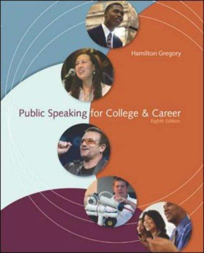 Public Speaking for College & Career, Instructor's Edition