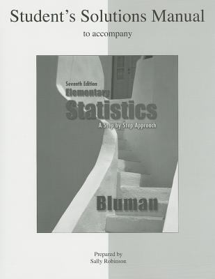 Student Solutions Manual Elementary Statistics A Step By Step