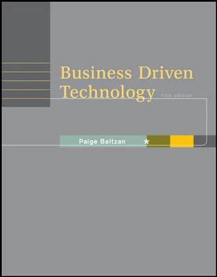 Business Driven Technology