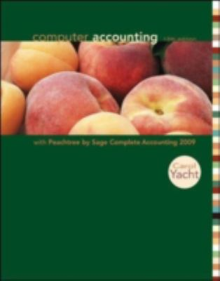 Computer Accounting with Peachtree COMPL 2009, Release 16. 0