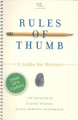 Rules of Thumb: Guide for Writ.. APA Update
