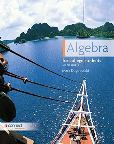 Algebra for College Students, 6th Edition