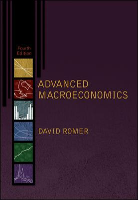 Advanced Macroeconomics