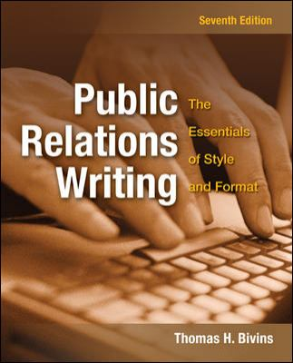 Public Relations Writing the Essentials
