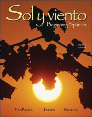 Soly Viento Beginning Spanish , Second edition
