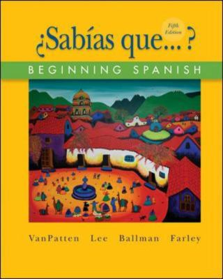 Sabas que...?:  Beginning Spanish