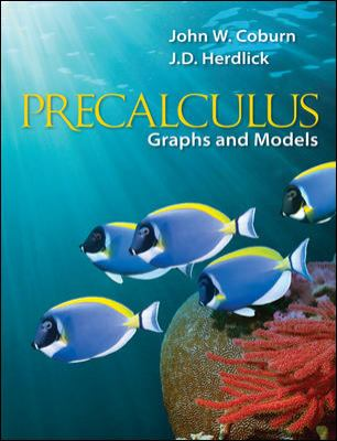 Precalculus: Graphs & Models