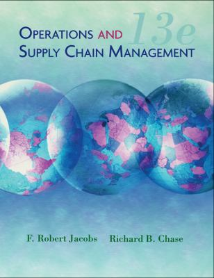 Operations and Supply Chain Management (The Mcgraw-Hill/Irwin Series)