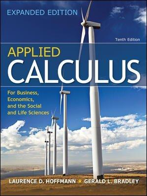 Applied Calculus for Bus, Econ, and the Social and Life Sciences Expanded Edition