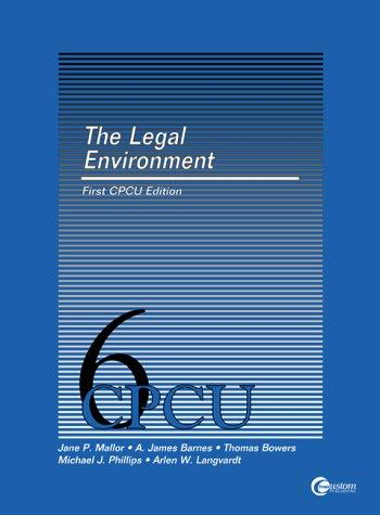 The Legal Environment of Risk Management and Insurance