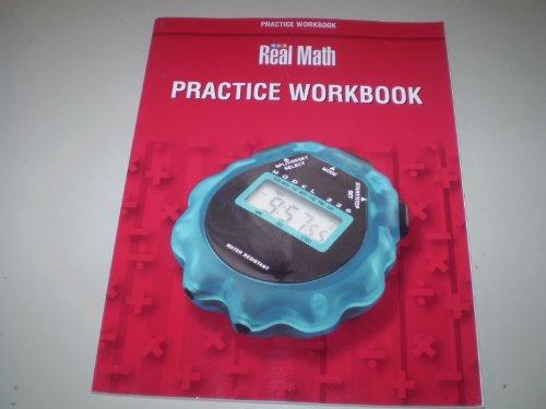 SRA Real Math Practice Workbook: Grade 6