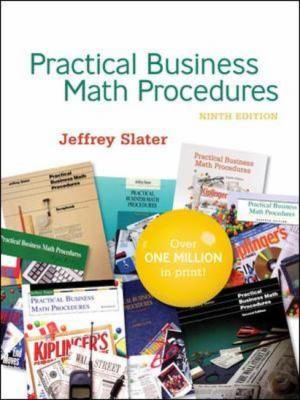 PRACTICAL BUS MATH PROCEDURES With Student DVD, WSJinsert,BMathHandbook