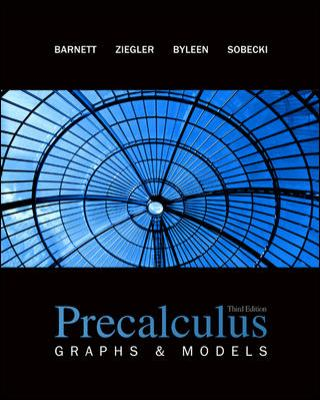 Precalculus: Graphs and Models