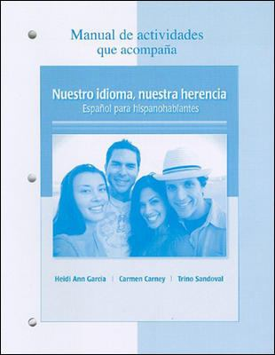 Nuestro idioma, nuestra herencia Manual de actividades / Our Language, Our Heritage Activities Manual (Spanish Edition)