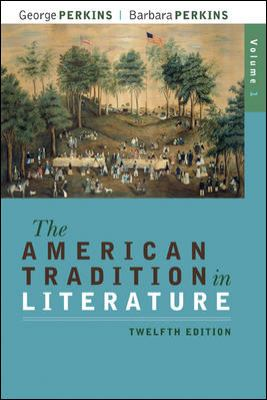 The American Tradition in Literature, Volume 1(book alone)