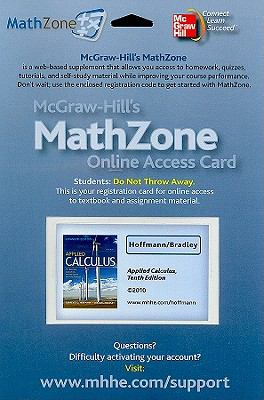 MathZone Access Card for Applied Calculus for Business, Economics, Social and Life Sciences, Expanded Edition