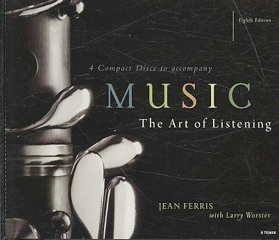 4-CD Set for use with Music: The Art of Listening