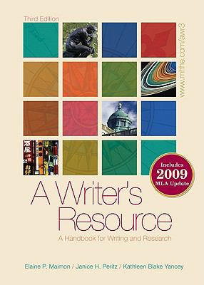 A Writer's Resource - Student Edition