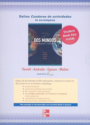 Quia Combined Online Workbook/Lab Manual t/a Dos Mundos