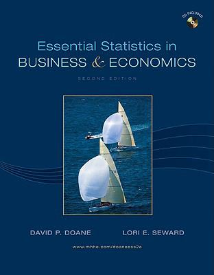 Essential Statistics in Business and Economics with Student CD (Mcgraw-Hill/Irwin Series Operations and Decision Sciences)