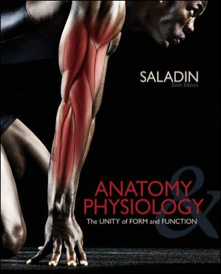 McGraw Hill's STANDALONE CONNECT PLUS Code for Anatomy and Physiology by Saladin 6th Edition