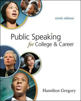 Public Speaking for College and Career with Connect Plus Public Speaking
