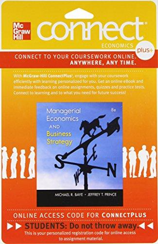 Connect Plus Economics with LearnSmart One Semester Access Card for Managerial Economics