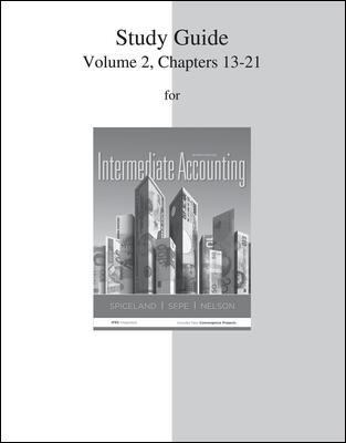 Study Guide Volume 2 for Intermediate Accounting