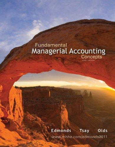 Loose-Leaf Fundamental Managerial Accounting Concepts