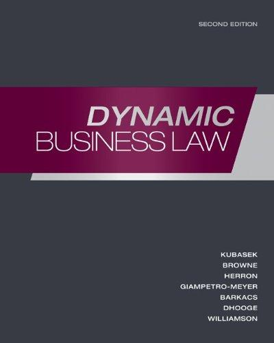 Loose-Leaf Dynamic Business Law