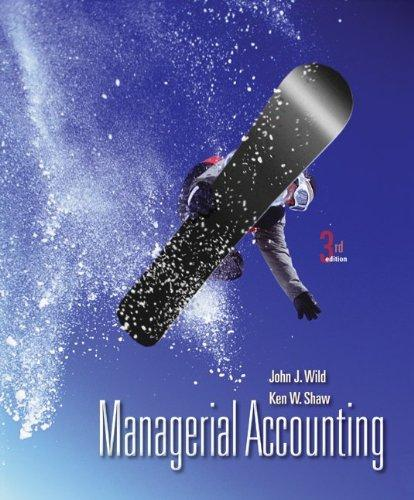 Loose-Leaf for Managerial Accounting