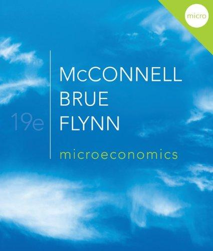 Microeconomics with Connect Plus (The Mcgraw-Hill Series: Economics)