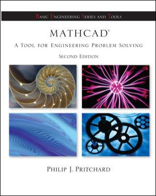 Mathcad: A Tool for Engineering Problem Solving + CD ROM to accompany Mathcad
