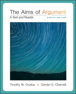 Aims of Argument: a Text and Reader
