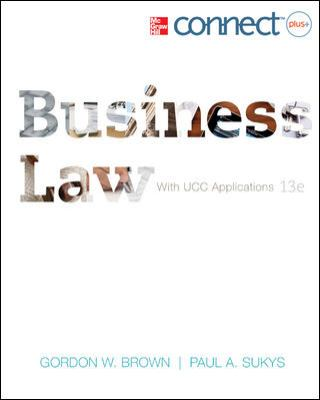 Business Law with Connect Plus