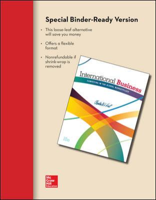 Loose-Leaf for International Business 10e