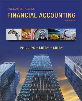 Fundamentals of Financial Accounting with Connect Plus
