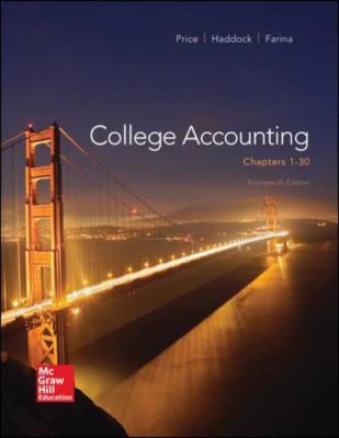 College Accounting ( Chapters 1-30)