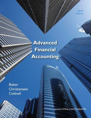 Advanced Financial Accounting with Connect Plus