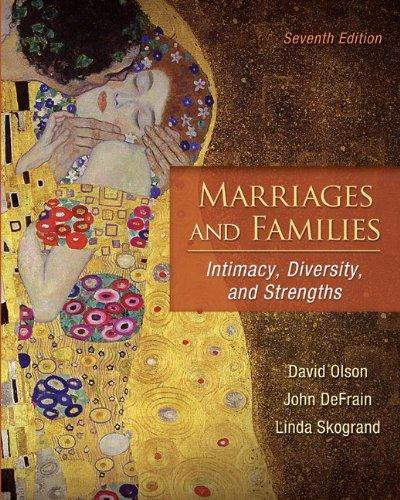 Marriages and Families: Intimacy, Diversity, and Strengths w/ AWARE Inventory