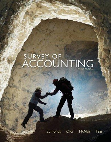 Loose Leaf Survey of Accounting with Connect Plus